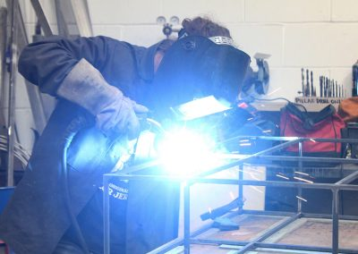 INTRODUCTION TO WELDING & METALWORK